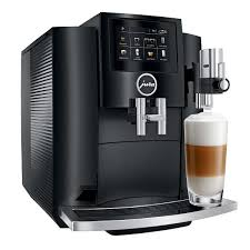 Empty the coffee grounds container and reinsert the drip tray after waiting 10 seconds. Jura S8 Automatic Coffee Machine Piano Black