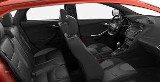 2018 ford focus st interior