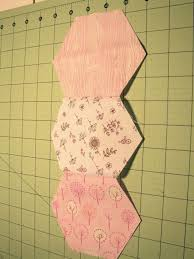 tallgrass prairie studio: Sewing Hexagons by Machine Without Marking & Sew from edge to edge as shown and backstitch at each end. Don't press.  Repeat and make your column as long as you'd like. For the pink quilt above  I sewed ... Adamdwight.com
