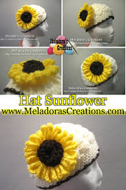Crochet Sunflower Pattern Classy Crocheted Sunflower Free Crochet Pattern