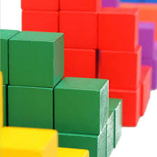 Wooden Game Cubes Custom Free Shipping 33332PCS Mixed 33332 Colors 3332cm3332cm3332cm Wooden Cubes Wooden
