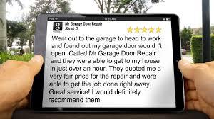 Mr Garage Door Repair ChandlerOutstanding5 Star Review - Video ...
