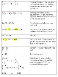adorable algebra 1 lesson 3 2 solving multi step equations with solving algebra equations with variables