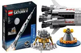 Lego Nasa Apollo Saturn V Standing Over Three Feet Tall And Comprised Of 1969 Pieces The Lego Nasa Apollo Saturn V Is A Brick Based Tr Nasa Apollo Nasa Saturn