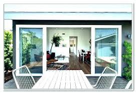 4 panel gliding patio door