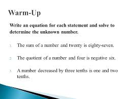 writing two step equations jennarocca