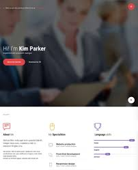 Personal Resume Website 100 Best WordPress Resume Themes For Your Personal Website 33