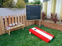 Diy Outdoor Games Backyard Game Ideas