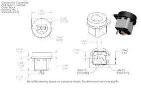 raphnet technologies gamecube controller connector dimensions