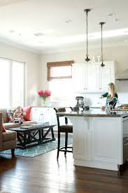 love the sitting area in the kitchen