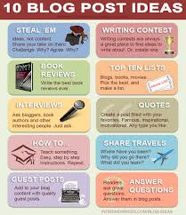 The Top 10 Best Blog Post Ideas Ever Positive Writer