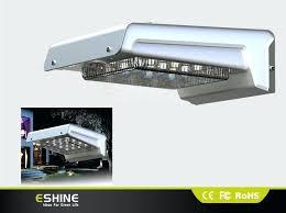 solar power outdoor wall lights house solar power motion sensor light aluminum energy saving solar wall