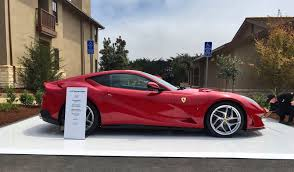2018 ferrari cars. simple 2018 home  in pictures pebble beach 2017 u2013 welcome to casa ferrari 2018  ferrari 812 superfast 7 inside ferrari cars