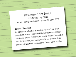 What To Write As Career Objective In Resume Career Objectives For