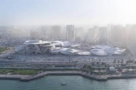 Dubai Lights Doha Qatar National Museum Of Qatar Ateliers Jean Nouvel