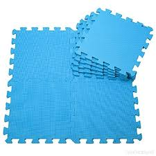 Set of 9 Pcs Interlocking Soft Foam Floor Mats Kids Play Mats 3030