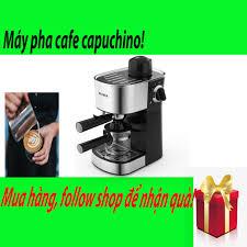 Máy pha cà phê capuchino, máy pha nhỏ gọn sang trọng tại nhà hoặc văn phòng  mà vẫn giữ nguyên được hương vị cà phê tại Hà Nội