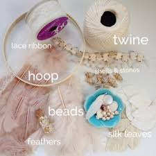 Supplies For Dream Catchers