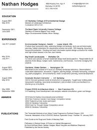 Print Resume Stunning Resume Nathan R Hodges's Portfolio