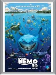 finding nemo 3d poster. Beautiful Poster Image Is Loading FindingNemo3DA1ToA4SizePoster And Finding Nemo 3d Poster N