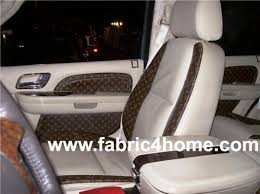 louis vuitton seat covers for suv