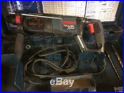 bosch bulldog hammer drill. bosch bulldog extreme hammer drill with case and extra bits
