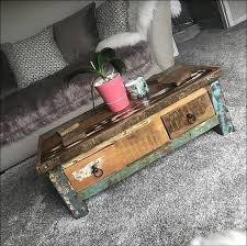 industrial style coffee table rustic