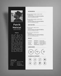 Simple Resume Cv Design Template Free Psd File Good Resume Great