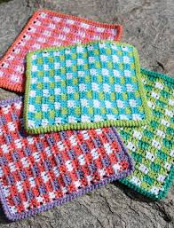 Sugar And Cream Yarn Patterns Amazing Mod Gingham Dishcloth In Lily Sugar And Cream Solids Discover More