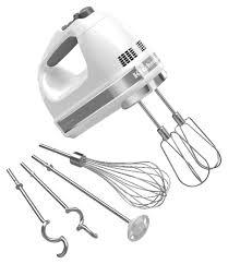 kitchenaid 9 speed hand mixer. kitchenaid - khm926wh 9-speed hand mixer white angle kitchenaid 9 speed