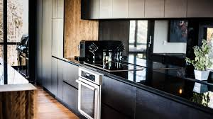 Black Ash Wood Kitchen Cabinets Ateliers Jacob Calgary