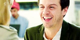 FOR PRECIOUS MANON HAVE SOME SMILING ANDREW SCOTT - tumblr_mpd8f1O4cU1qe5cn6o1_500