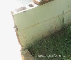cinder block wall repair. Interesting Cinder Masonry 101 How To Repair A Concrete Cinder Block Wall On Cinder
