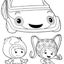 Small Picture Free Printable Coloring Pages Team Umizoomi Umicar Coloring Page
