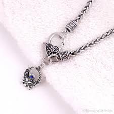 whole three legged crow yatagarasu crow pendant japanese raven sun prosperity amulet charm wheat bracelet earring necklace gold chains for men name