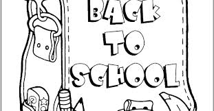 first day of school coloring sheets pages for kindergarten free printable bus welcome print
