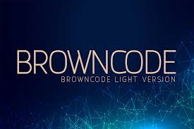 Font awesome | free svg image in public domain. Browncode Light Font By Huntype Creative Fabrica In 2020 Light Font Elegant Font Sans Serif Fonts
