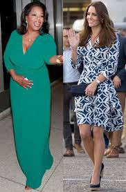 Kate is a fan of diane von furstenberg, and has worn her dresses on a number of occasions in the past. Kate Middleton Oprah More In Dvf See Her Famous Fans E Online