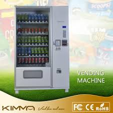 Vending Machine Stock Suppliers Adorable Electronic Soda Vending Machine With Stock Cabinet From Top China