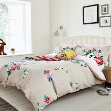 devito floral kingsize grey duvet covers by joules at bedeck