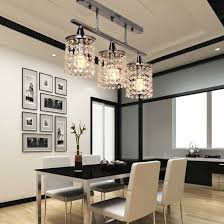 linear dining room lighting. Dining Room Flush Mount Light Crystal Linear Chandelier With Stainless Fixtures Chandeliers Semi Lighting D