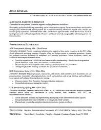 Administration Officer Sample Resume Stunning Cover Letter Samples For Administrative Assistant Awesome Executive