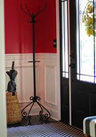 Wrought Iron Standing Coat Rack Entryway Wrought Iron Standing Coat Rack Attractive And Functional 44
