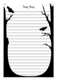 esl scary worksheets scary stories