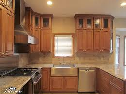 Light Brown Kitchen Cabinets For Designs 4 Nepinetworkorg