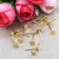 Earring <b>Blanks Gold</b> Earring <b>Blanks Stainless Steel Blanks Gold</b> ...