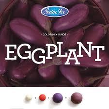 Eggplant Color Mixing Guide Satin Ice Eggplant Fondant