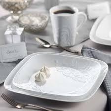 Corelle 16-Piece Vitrelle Glass Cherish Chip and Break Resistant ...