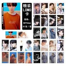 Fake Stylish Lomo Bts Photocard Boys Kpop Love Bangtan Card Suga YErYqw