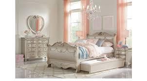 disney princess bedroom furniture. Disney Princess Silver Pc Full Sleigh Bedroom On Furniture